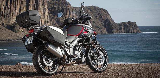 A Suzuki oferece uma série de equipamentos para a V-Strom 1000 ABS importados da Alemanha e Japão
