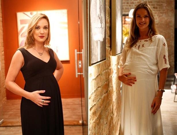 Amanda e Érika aparecem grávidas no último capítulo de