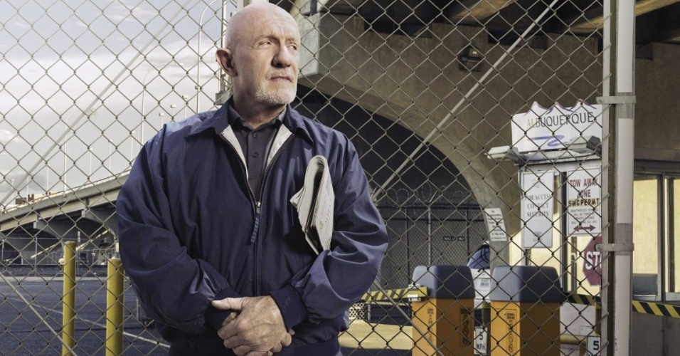 """Johnathan Banks interpreta novamente o personagem Mike em """"Better Call Saul"""""""