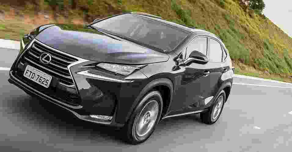 Lexus NX 200t - Divulgação