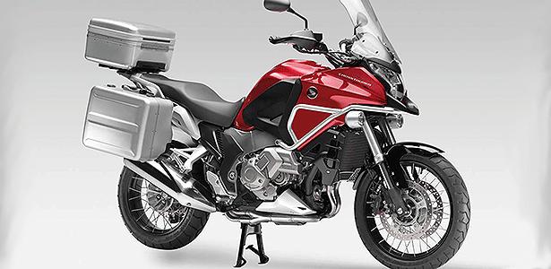 Pacote completo da Honda VFR 1200X Crosstourer custa R$ 12.000