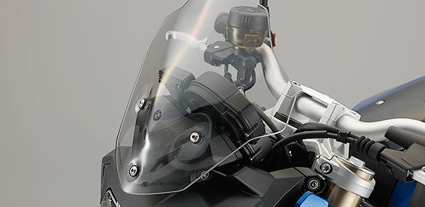 Para-brisa com 7 cm a mais de altura oferece melhor proteção para F 800R e custa R$ 1.858,30