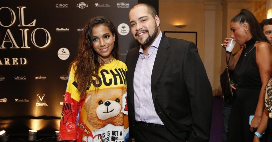 13.mar.2015 - famosos prestigiam o aniversário da promoter Carol Sampaio, no Rio de Janeiro