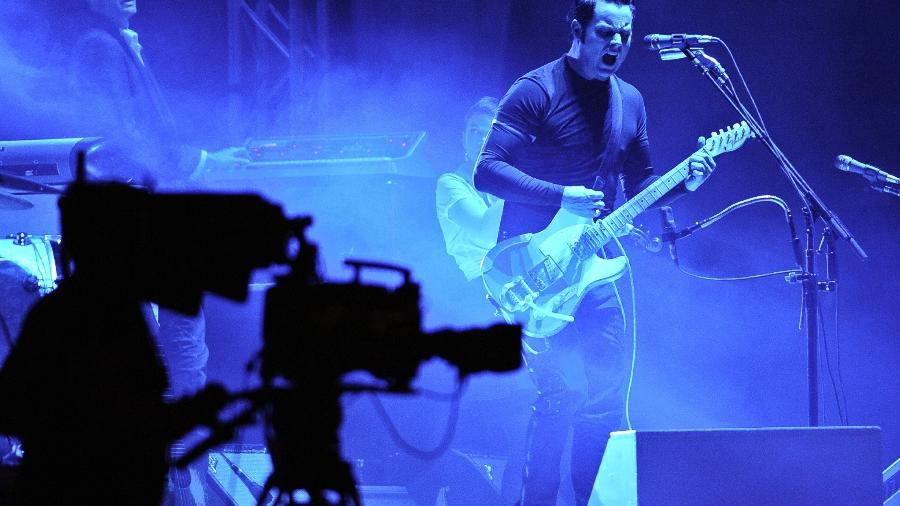 Jack White no festival Lollapalooza Chile em 2015 - Xinhua/Jorge Villegas