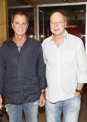 Edgar Moura Brasil e seu marido, Gilberto Braga - Anderson Borde e Felipe Assumpção/AgNews