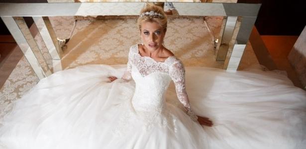 A modelo Caroline Bittencourt participou de um editorial de moda do evento - Murillo Medina Fotografia