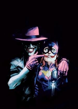 """Capa variante da 41ª edição da HQ """"Batgirl"""", em comemoração aos 75 anos de Coringa - Reprodução"""