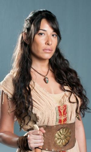 ZÍPORA (Giselle Itié): Mais velha das sete irmãs de Jetro, com a morte precoce da mãe teve que ajudar o pai a criar as irmãs mais novas e se tornou uma mulher forte e decidida