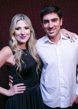 O casal Dani Calabresa e Marcelo Adnet