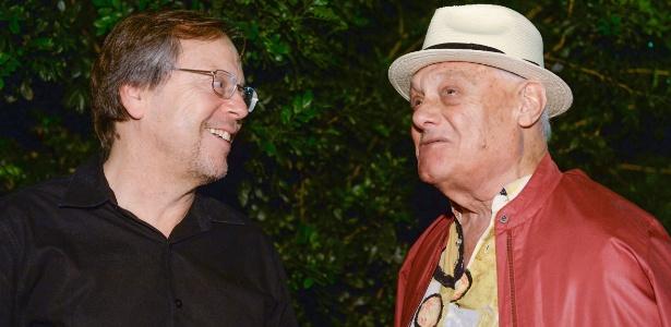 Fernando Meirelles e Germano Mathias