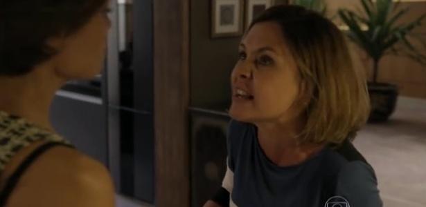 Inês (Adriana Esteves) se enfurece ao descobrir que Alice (Sophie Charlotte) está grávida