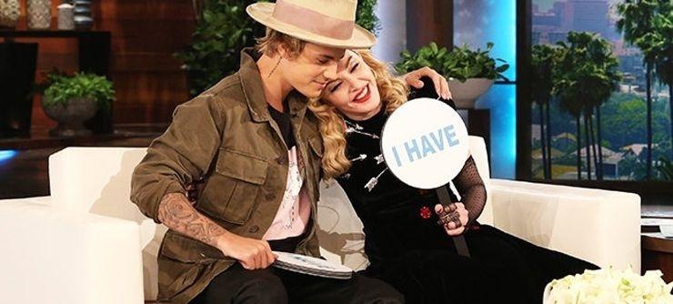 Madonna e Justin Bieber participam do The Ellen Show