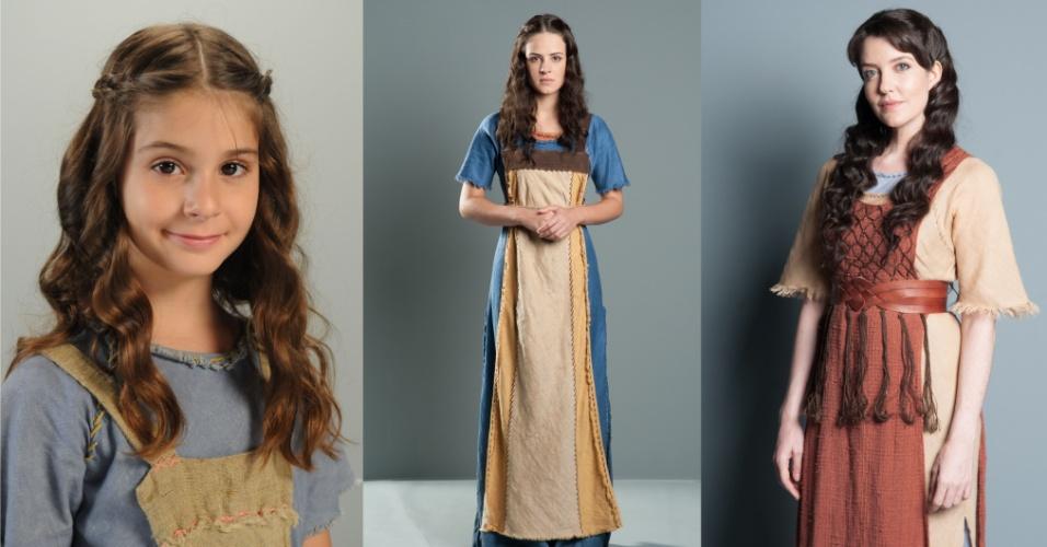 MIRIÃ (Isabella Koppel/Ariela Massoti/Larissa Maciel): Mulher de forte personalidade e muita fé