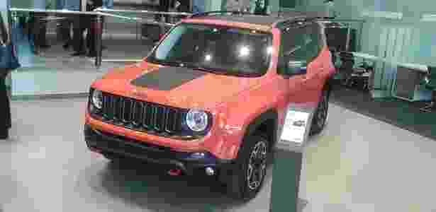 Renegade já está exposto em concessionária da Jeep que está prestes a abrir em São Paulo (SP) - Leonardo Felix/UOL - Leonardo Felix/UOL