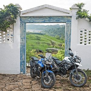 Triumph Tiger 800 XCx e 800 XRx - Divulgação