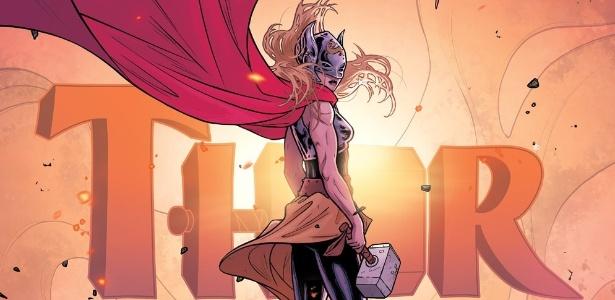 """20.mar.2015 - Capa da edição número 5 de """"Thor"""" - Divulgação/Marvel"""