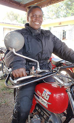Ann Rengo, da ONG Riders