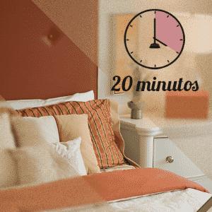 limpeza do quarto em 20 minutos - Arte UOL