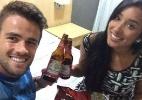 """Fora do """"BBB15"""", Rafael posta foto ao lado de Talita. """"Te amo menina"""" - Reprodução / Instagram"""