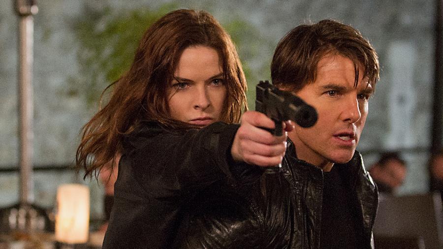"""23.mar.2015 - Divulgadas as primeiras imagens de """"Missão: Impossível - Nação Secreta"""", com Tom Cruise - Divulgação"""