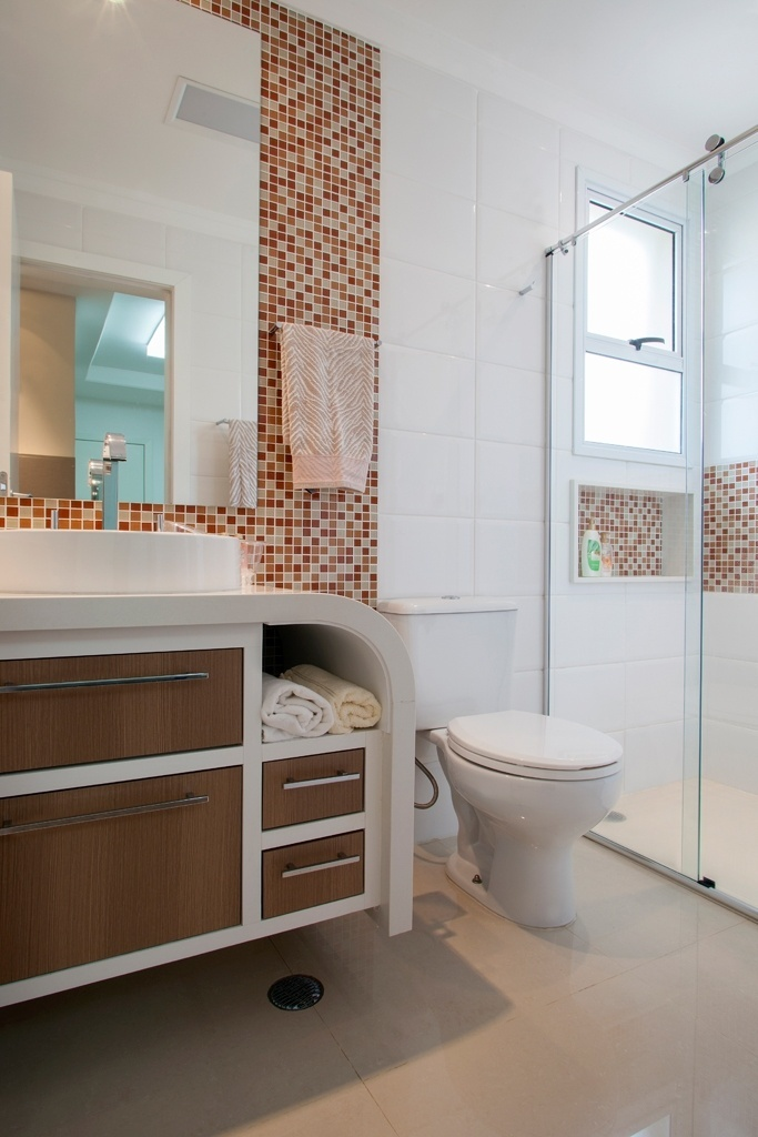 Fotos Banheiros a partir de 2,72 m² são ampliados por louças e móveis sob me -> Pia De Banheiro Em Ingles
