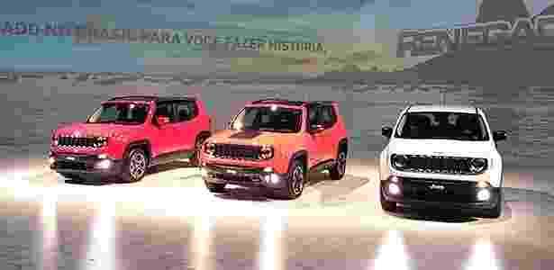 Jeep fará 100 mil Renegade por ano no Brasil, número para superar o Ford EcoSport - Murilo Góes/UOL - Murilo Góes/UOL