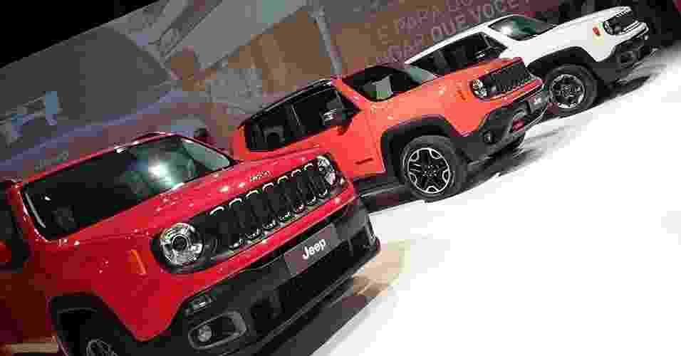 Jeep Renegade é lançado no Brasil - Murilo Góes/UOL