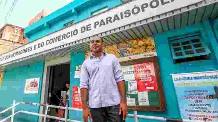 O Gilson Rodrigues, líder comunitário e presidente da União dos Moradores e do Comércio de Paraisópolis ao UOL - Ricardo Matsukawa/UOL - Ricardo Matsukawa/UOL
