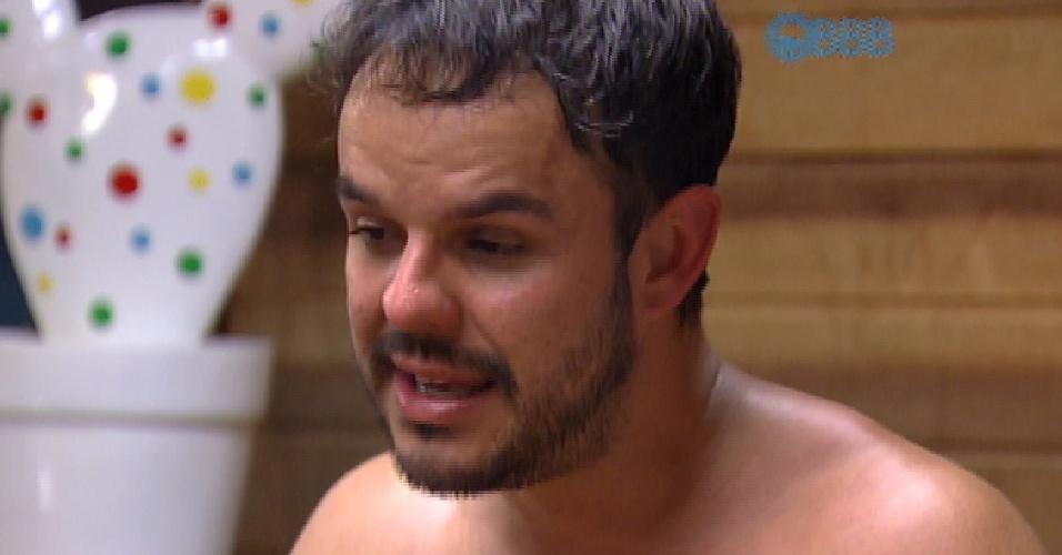 25.mar.2015 - Adrilles especula motivos que levaram à eliminação de Mariza