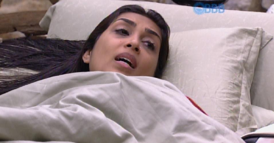 25.mar.2015 - Amanda fala da sua relação com Fernando