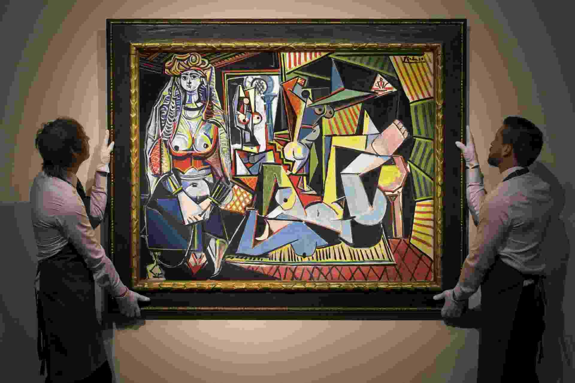 """Fotografía cedida pela casa de leilão Christie's de """"Les Femmes d'Alger (Versión 'O')"""", de Pablo Picasso - Efe"""