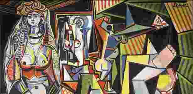 """Fotografía cedida pela casa de leilão Christie's de """"Les Femmes d'Alger (Versión 'O')"""", de Pablo Picasso - Efe - Efe"""