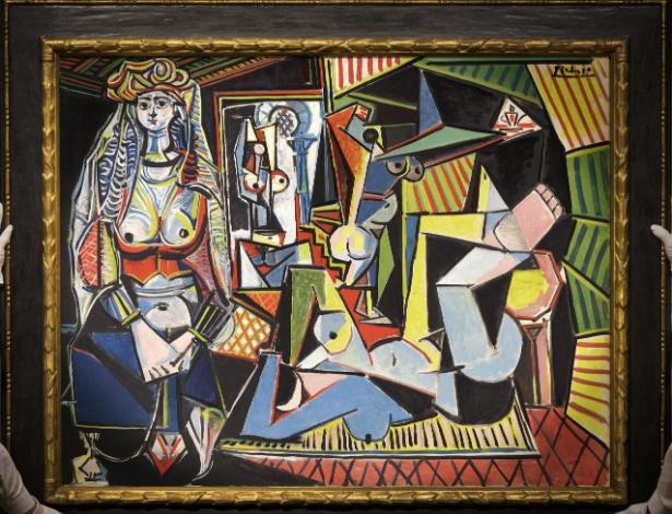 """Fotografía cedida pela casa de leilão Christie""""s de """"Les Femmes d""""Alger (Versión """"O"""")"""", de Pablo Picasso - Efe"""