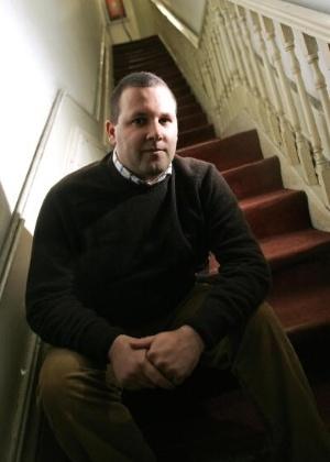 """O escritor Luís Miguel Rocha, autor de """"O Último Papa"""" - Miguel RIOPA/AFP/Getty Images)"""