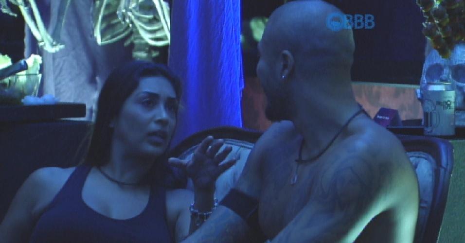 26.mar.2015 - Amanda pede Fernando em namoro três vezes e brother diz que não quer se precipitar com as palavras