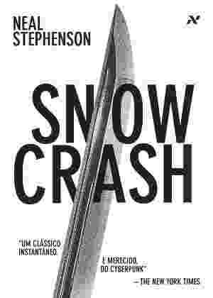 """Capa de """"Snow Crash"""", de Neal Stephenson - Divulgação"""