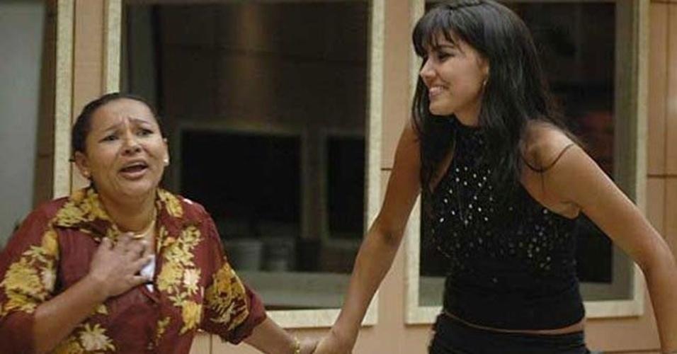 """Mara e Mariana Felício foram as grandes amigas do """"BBB6"""". Meiga e simpática, a modelo sempre segurava os momentos difícieis de Mara,"""
