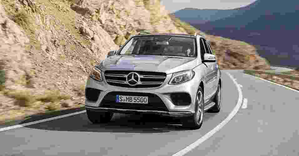 Mercedes-Benz GLE 500e - Divulgação