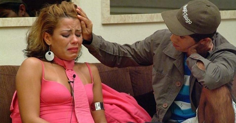 """Pink e Jean Wyllys conquistaram o público com a amizade entre eles dentro do """"BBB5""""."""