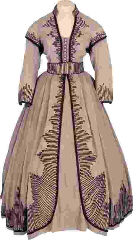 """Vestido usado pela personagem Scarlett O'Hara (Vivien Leigh) em """"...E o Vento Levou"""". Lance inicial: US$ 60 mil - Heritage Auctions/Divulgação"""