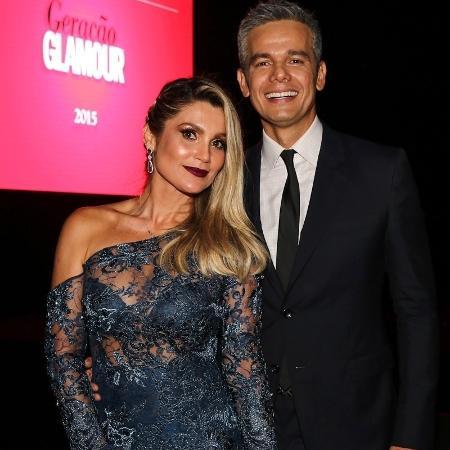 Flávia Alessandra e o marido, Otaviano Costa  - Manuela Scarpa/Photo Rio News