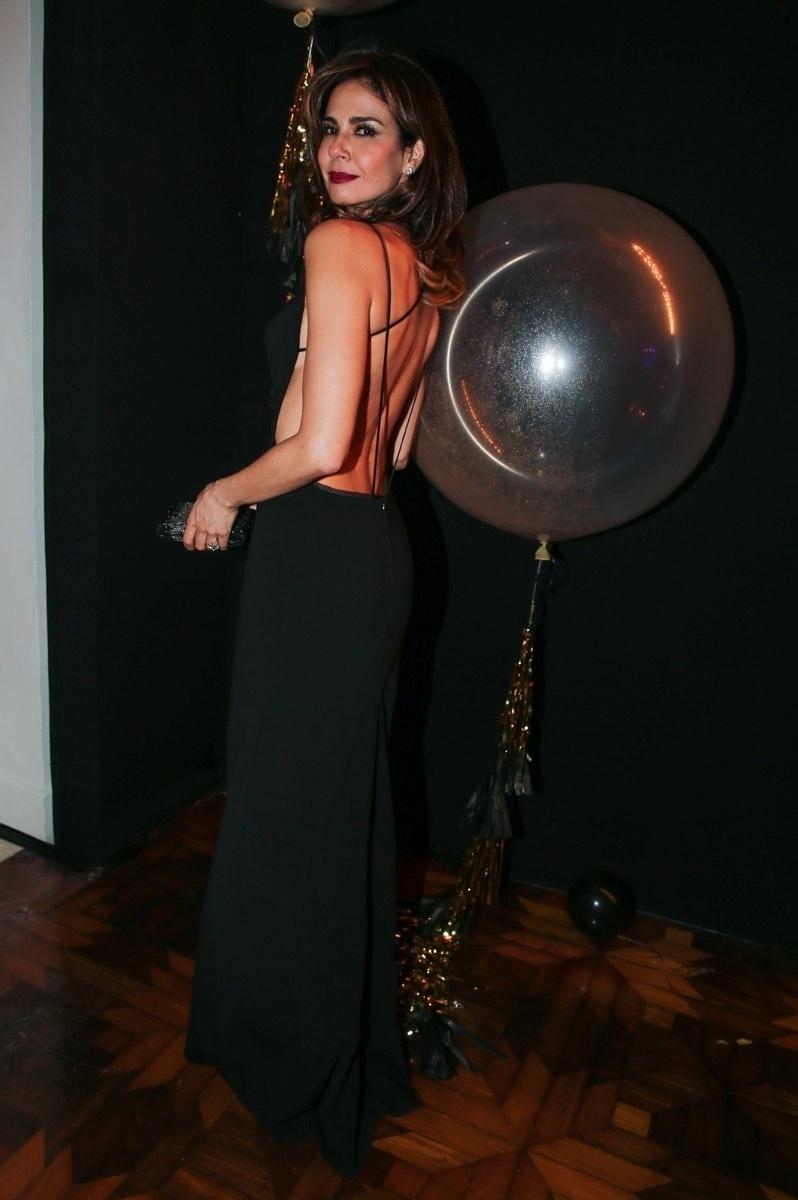 26.mar.2015 - Luciana Gimenez marca presença no Prêmio Geração Glamour, no Nacional Club, zona oeste de São Paulo, nesta quinta-feira