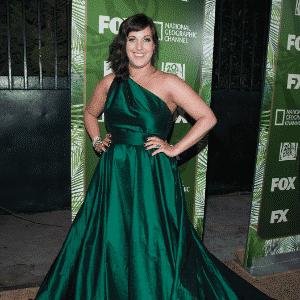 Allison Tolman Emmy 2014 matéria vestidos plus size - Getty Images