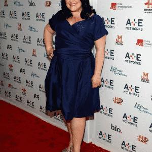 Brooke Elliott matéria vestidos plus size - Getty Images