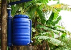 Veja como construir uma cisterna caseira para captação da água de chuva  (Foto: Fabiano Cerchiari/ UOL)