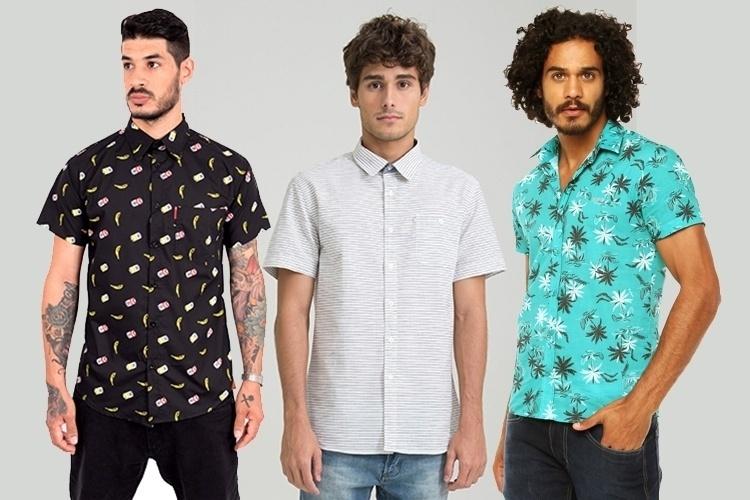 4dfb42185 Camisas estampadas de manga curta invadem o guarda-roupa masculino - BOL  Fotos - BOL Fotos