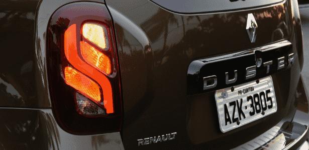 Lanterna traseira do Renault Duster 2016 - Murilo Góes/UOL - Murilo Góes/UOL