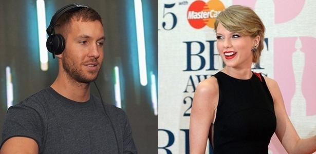 Calvin Harris e Taylor Swift namoraram por 15 meses - Getty Images e EFE