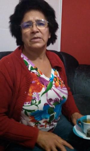 """Dona Maria Rosa Lima, mãe de Cézar Lima do """"BBB15"""""""