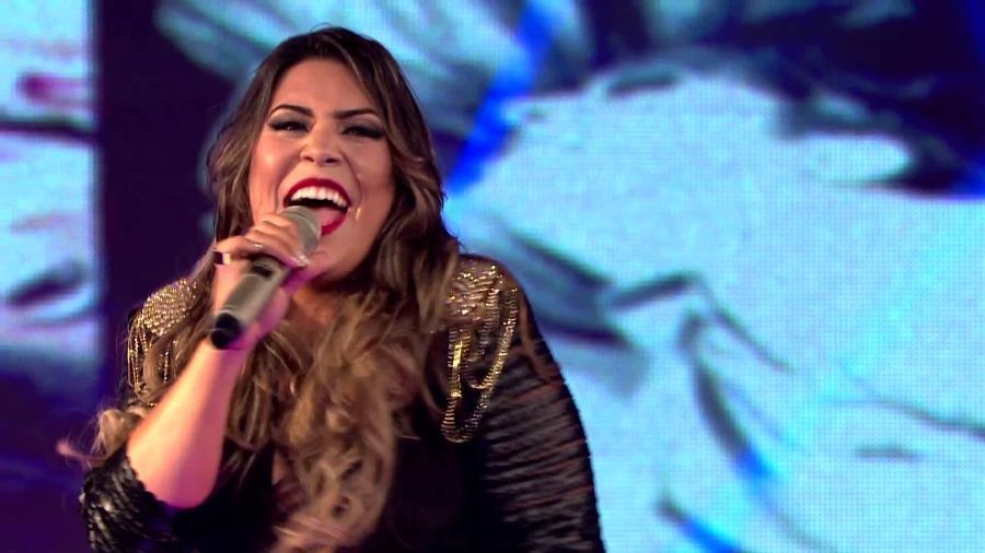 """Naiara Azevedo começou a fazer sucesso com a resposta para """"Sou Foda"""", de Munhoz e Mariano - Reprodução"""